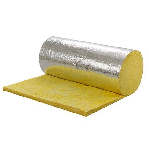 fiber glass wool with fsk aluminum foil insulation