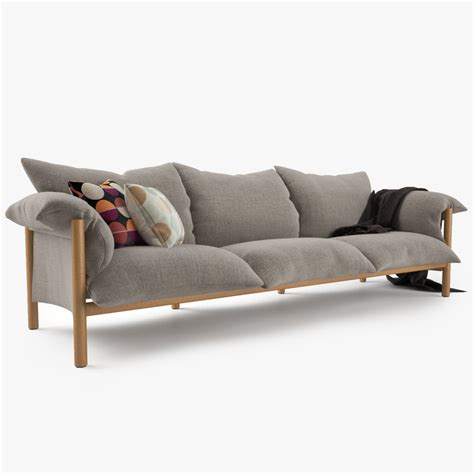 wilfred couch 3d model of jardan wilfred sofa