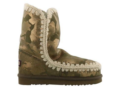 eskimo boots mou mou eskimo boots limited edition green s
