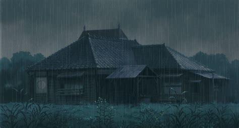 anime gif rain totoro rain tumblr