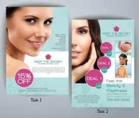 beauty shop flyer template flyerforu com