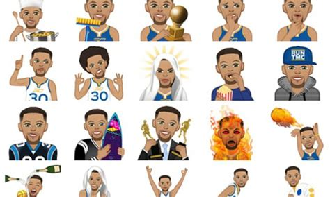 animated dancing emoji golden state warriors steph curry releases emoji app