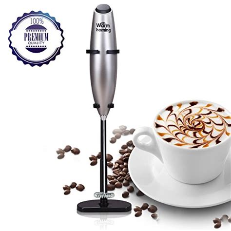 Hongxin Milk Frother Latte Capuccinno electric milk frother handheld coffee foamer cordless latte cappuccino steamer ebay