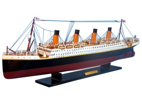 titanic toy boat that floats buy rms titanic model cruise ship 32 inch model boat