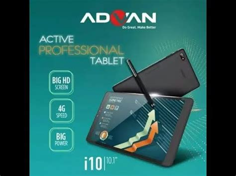 Advan 10 Inch advan i10 active pro tablet 10 inch review and unboxing