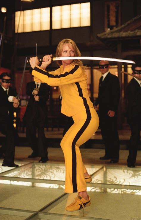 kill bill uma thurman and the bride on pinterest the most iconic shoe moments in film the bride sharp