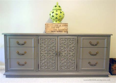 painted furniture ceremonious gray painted modern dresser added 6 drawer and