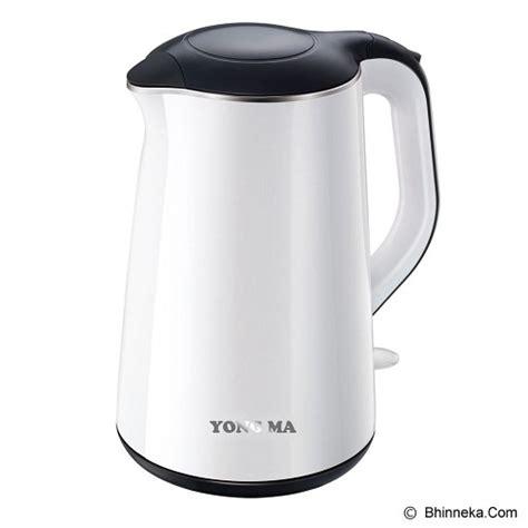 jual yong ma kettle ymk201 white murah bhinneka