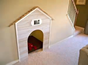 make your own dog house under stairs dog house do it and how