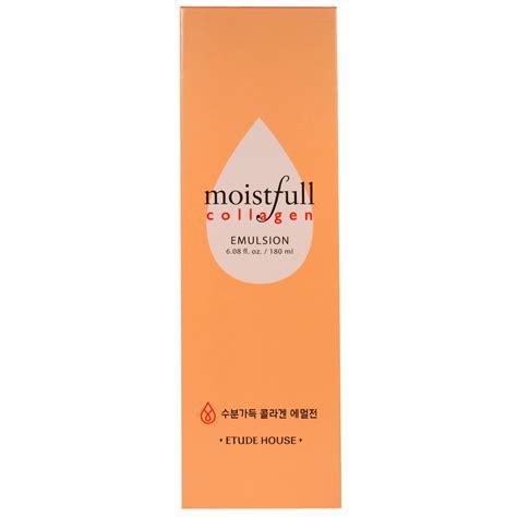 Etude Moistfull Collagen Emulsion etude house moistfull collagen emulsion 6 08 fl oz 180