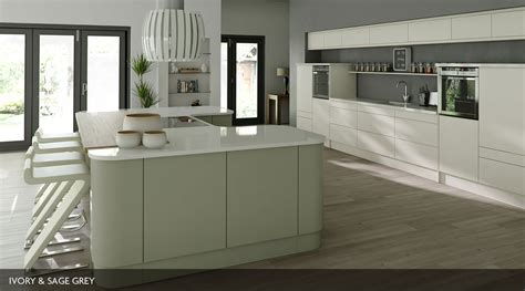 Sage Green Kitchen Ideas Linear Painted Our Kitchens Mackintosh Kitchens