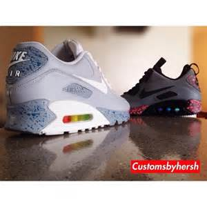 Nike air max 90 air mag negative customs by customs by hersh