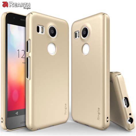 Rearth Ringke Slim Iphone 55s5sese Back Cover Gold Spigen rearth ringke slim nexus 5x gold reviews