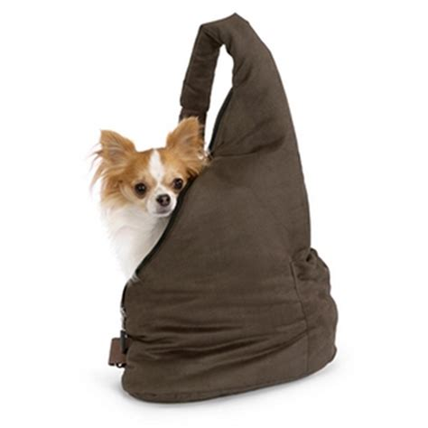 pouch carrier velvet messenger pooch pouch carrier espresso and baxterboo