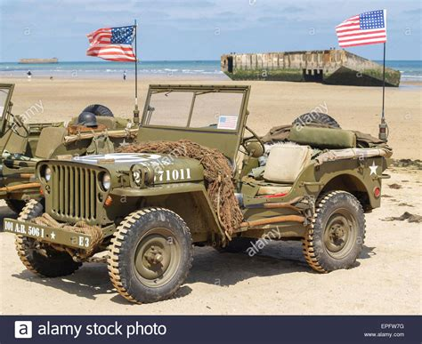 ww2 vehicles vintage ww2 vehicles on allied beaches d day anniversary