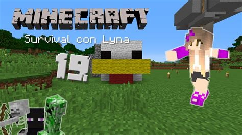 imagenes con movimiento de minecraft el gran pollo minecraft survival con lyna 19 youtube