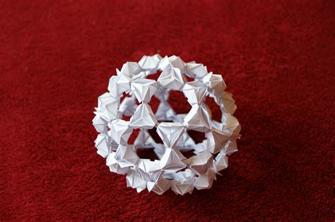 origami buckyball by kleinalaine on deviantart