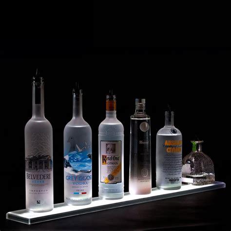 ls out of bottles led bottle shelf by armana shelving com