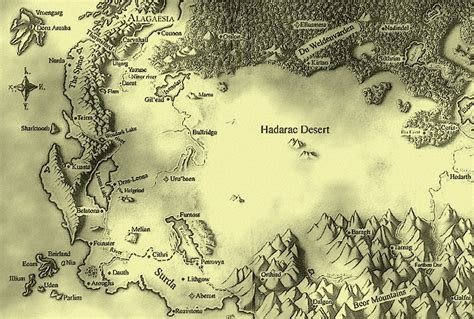map of algaesia world from eragon series imaginarymaps