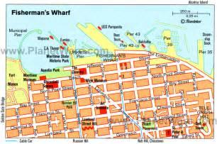 san francisco map fishermans wharf san francisco fishermans wharf map 겟어바웃 트래블웹진