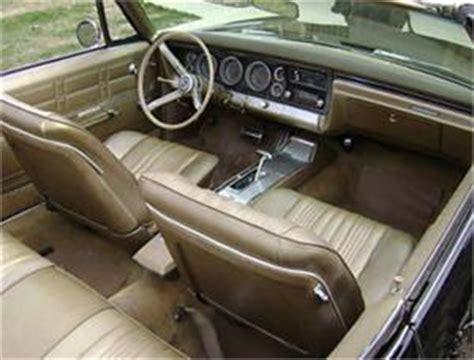 1967 chevy impala ss hardtop & convertible interior