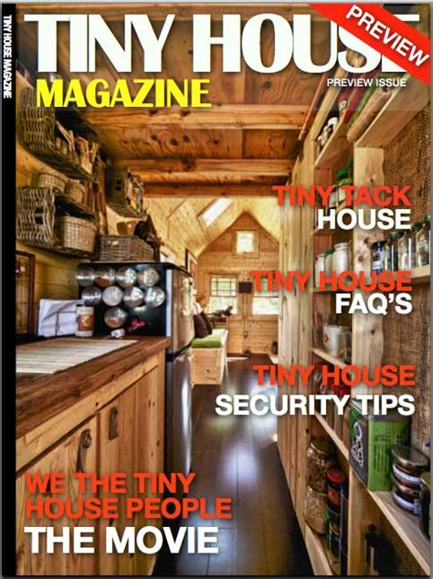 Small Home Plans Magazine Tiny House Magazine