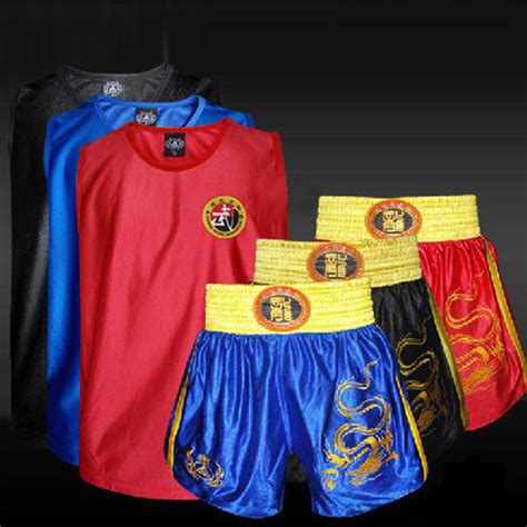 kick boxing uniforms tank shorts mma muay thai