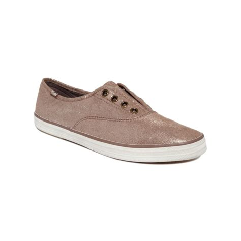 s laceless sneakers keds laceless sneakers in brown lyst