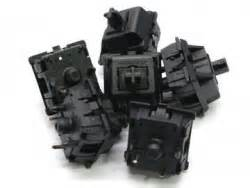 Cherry Mx Clear Switch Tactile Bump Pcb Mount cherry mx black keyswitch pcb mount linear 5 pack by cherry
