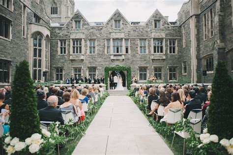 Wedding Ceremony Toronto by Fashionable Hart House Wedding Toronto Wedding Photographers