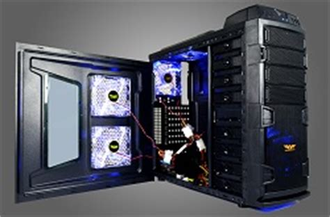 Fan Casing Armageddon Or Blue Led 120mm armaggeddon diitron t2 pc cases for pc gaming by armaggeddon