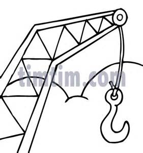 free drawing of building crane bw from the category building home tools timtim