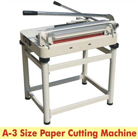 Paper Cutting A3 a4 size paper cutting machine exporter supplier bilaspur