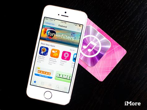 Apps For Gift Cards - how to redeem gift cards and app promo codes straight from your iphone and ipad imore