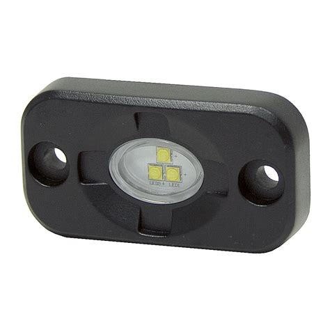 12 volt dc 1260 lumen 3 clear led surface mount light dc