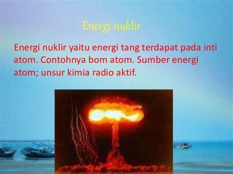 Kipas Angin Nagasaki bentuk bentuk energi dan sumbernya