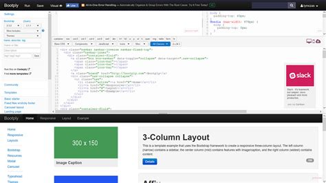 bootstrap free themes bootply bootply drag drop bootstrap editor