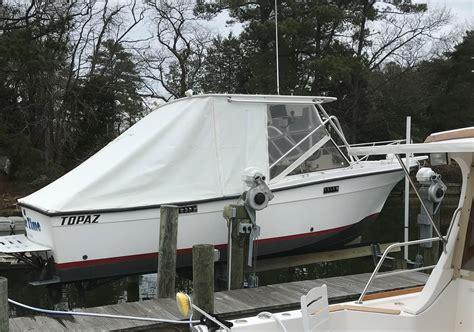 boats for sale burgess va 1981 topaz bimini 24 power boat for sale www yachtworld