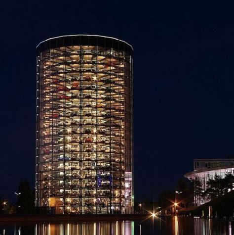 Garage Organization Company Ta Volkswagen S Spectacular Car Towers In Wolfsburg Germany