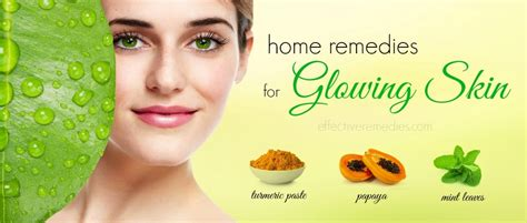 28 home remedies for glowing skin skin care in