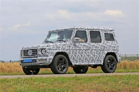 g class 2018 2018 mercedes g class 4x4 up variant spotted