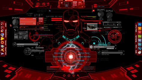 marvel iron man wallpapers jarvis hd desktop wallpapers