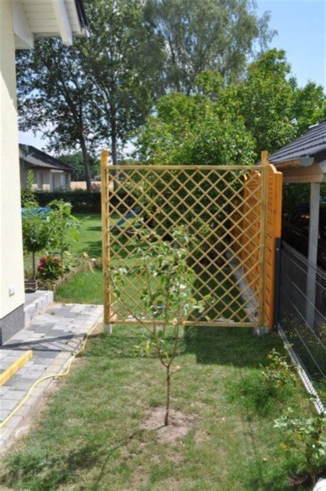 Pflanzen Für Sichtschutz Garten 878 by Rankgitter Holz Selber Bauen Bvrao