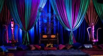 Backdrop Drapes For Weddings Arabian Nights Wedding Theme Arabia Weddings