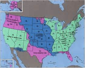 united states map history history the usa esl resources