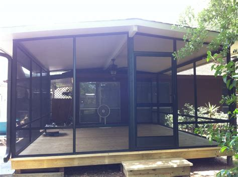 Outdoor Screen Rooms by Screen Room And Deck
