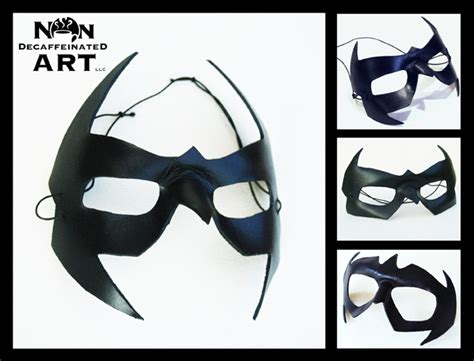 nightwing inspired mask styles by nondecaf on deviantart