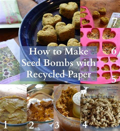 How To Make Seed Paper - how to make seed bombs with recycled paper joybilee farm