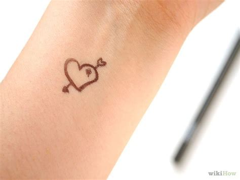 how to make a temporary tattoo