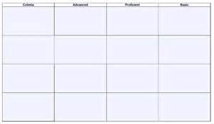 printable rubric template blank rubric template 6 free printable pdf word excel